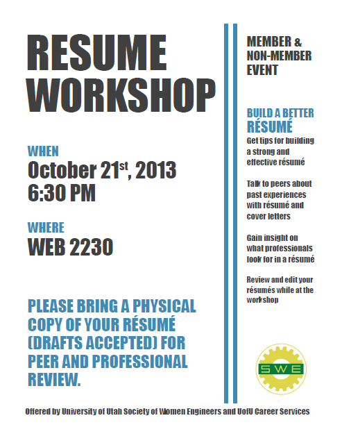 resume workshop teen resume workshop pasadena public library download flyer here