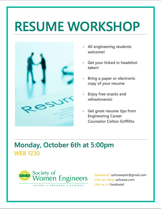 resume workshop out of darkness