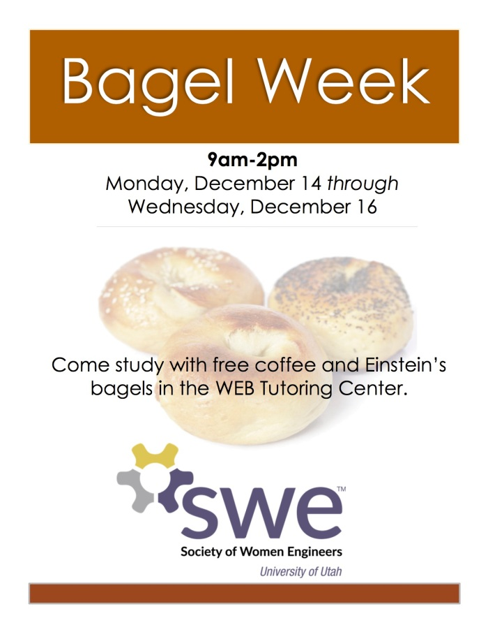 Bagel Week Flyer