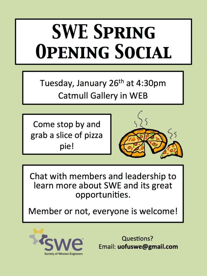 swe opening social
